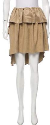 Alexis Mabille Ruffled High-Low Skirt w/ Tags
