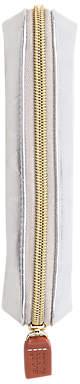 Caroline Gardner Metallic Pencil Case, Silver
