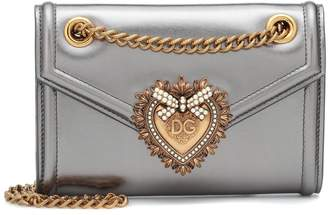 Dolce & Gabbana Mini Devotion leather shoulder bag