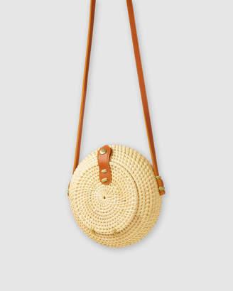 The Maple Rattan Bag
