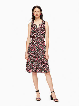 Kate Spade Mini Casa Flora Studded Dress, Black - Size XXS