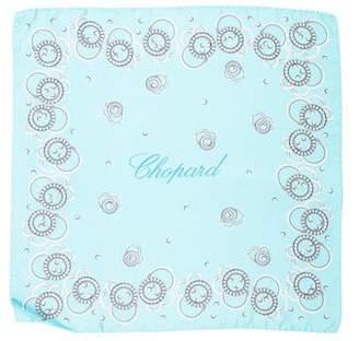 Chopard Ring Print Silk Pocket Square