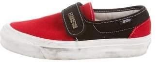 Vans Slip-On Round-Toe Sneakers
