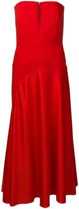 SOLACE London strapless long dress