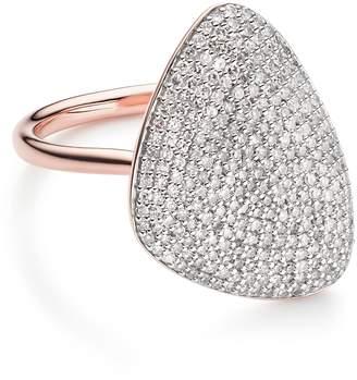 Monica Vinader Nura Diamond Teardrop Ring