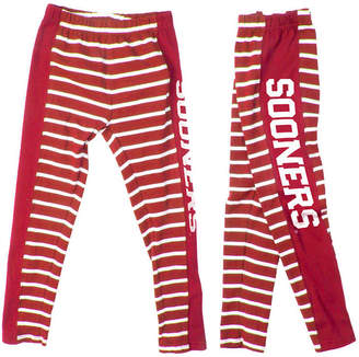 NCAA Authentic Apparel Oklahoma Sooners Striped Leggings, Toddler Girls (2T-4T)