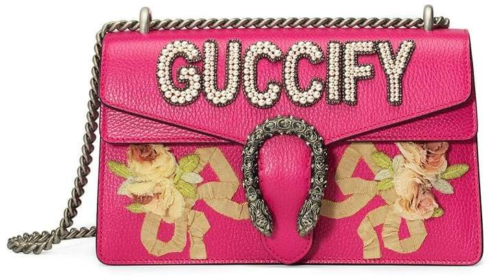 Gucci Dionysus Guccify Small Shoulder Bag RW7A2DrQSZ