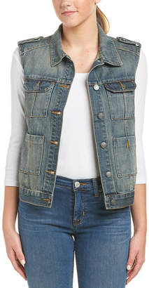 Hidden Jeans Wash Denim Vest