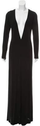 Lida Baday Long Sleeve Evening Dress