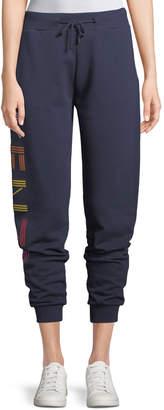 Kenzo Logo-Print Sport Jogger Pants