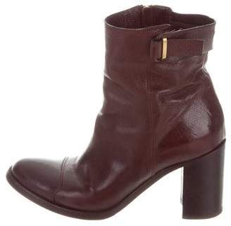 Sartore Leather Ankle Boots