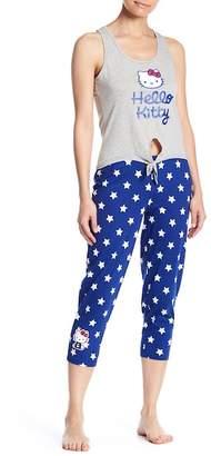 Hello Kitty Star Printed Pajama Set
