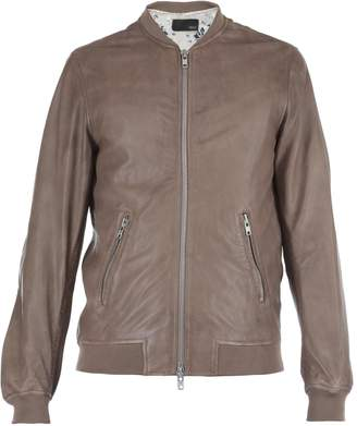 Bully Leather Bomber Jacket
