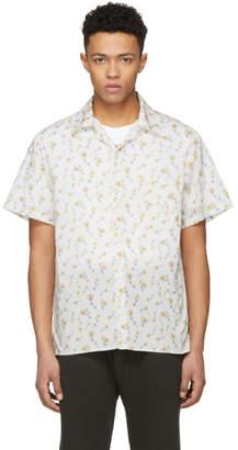R 13 White Daisy Skater Shirt