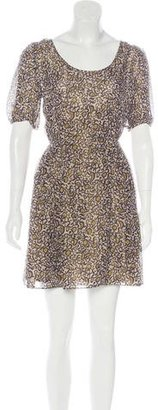 Marc by Marc Jacobs Printed Metallic Dress