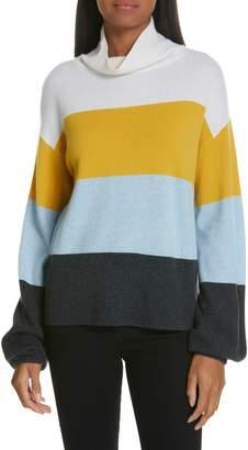 Veronica Beard Faber Stripe Cashmere Sweater
