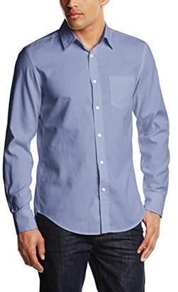 Benetton Men's Basic Cotton Dress Shirt