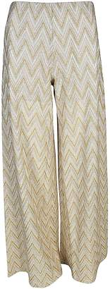 Missoni Embroidered Flared Trousers