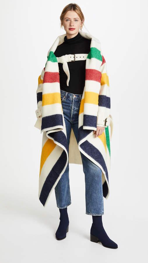 Hudson's Bay Blanket Coat