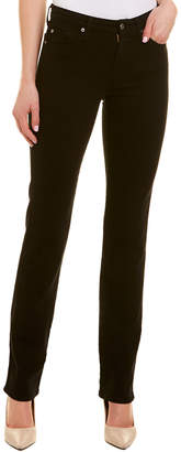 7 For All Mankind Seven Kimmie Black Straight Leg