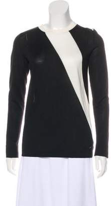 Akris Cashmere Long Sleeve Top Black Cashmere Long Sleeve Top