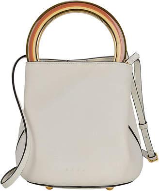 Marni Circular Top Handle Leather Bag