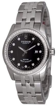 Tudor Glamour 53020 Automatic Steel & Diamonds Bracelet Swiss Watch