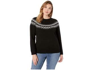 Lauren Ralph Lauren Plus Size Wool-Blend Sweater