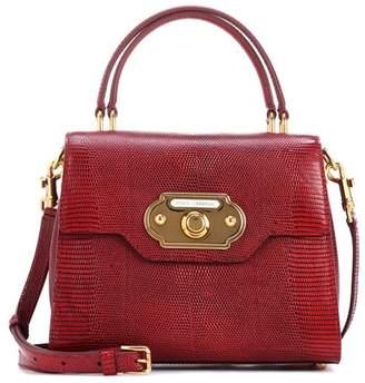 Dolce & Gabbana Welcome leather shoulder bag