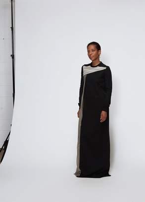 Rick Owens Long Sleeve Combo Dress