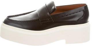 CelineCéline Leather Platform Loafers w/ Tags