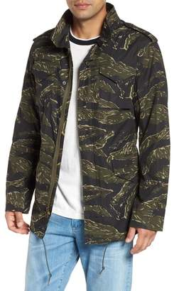 Alpha Industries M-65 Defender Waxed Camo Field Jacket