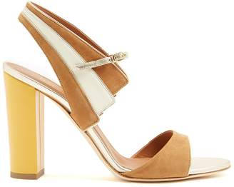Malone Souliers Careen colour-block suede sandals