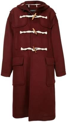Undercover hooded duffle coat