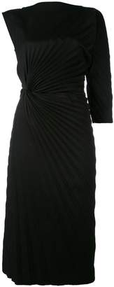 A.F.Vandevorst asymmetric pleated dress