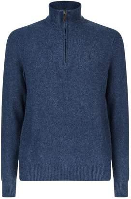 Polo Ralph Lauren Half-Zip Silk Sweater