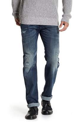 Diesel Safado Button Fly Distressed Jeans