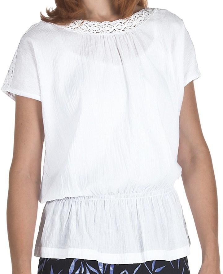 Fresco by Nomadic Traders Breezy Cotton Zara Shirt (For Women)