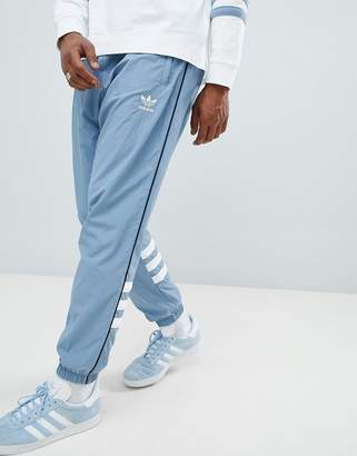 adidas Authentic Ripstop Joggers In Grey Dh3840