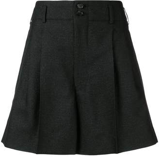 Comme des Garcons pleated wide leg shorts