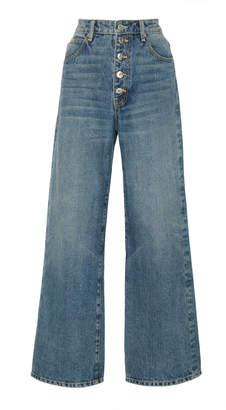 Eve Denim Charlotte High-Rise Culotte Jeans