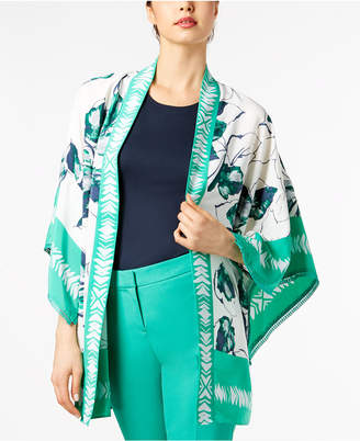 Alfani Printed Short Kimono Jacket, Created for Macy's