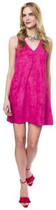 Julie Brown NYC Pink Suede Dress