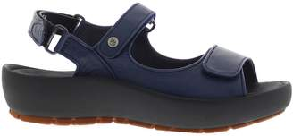 Wolky Womens Rio Leather Sandals 37 EU