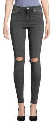 Mavi Jeans Lucy High-Rise Ripped Jeans