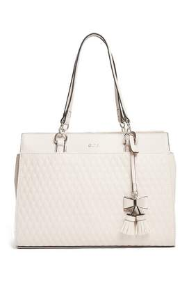 GUESS Factory Women's Tinley Quilted Tote