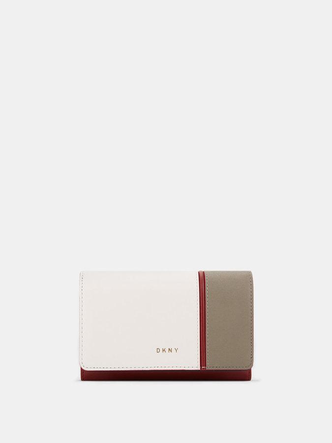 DKNYColorblock Medium Wallet