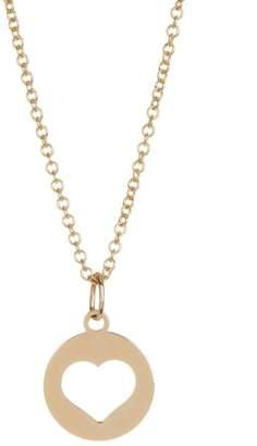 Bony Levy 14K Yellow Gold Heart Cutout Pendant Necklace