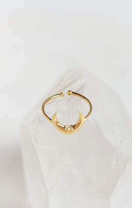 Show Me Your Mumu Ellery Horn Ring ~ Gold