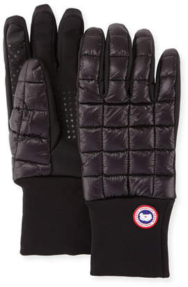 Canada Goose Northern Glove Liner, Black $90 thestylecure.com
